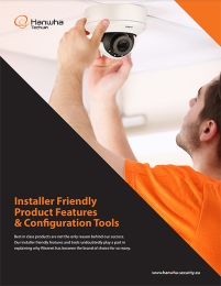 Wisenet Installer Friendly Brochure
