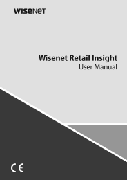 Wisenet Retail Insight