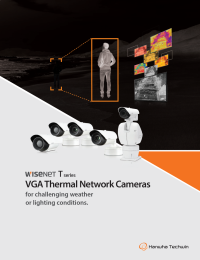 WISENET T Series - VGA Thermal Network Cameras