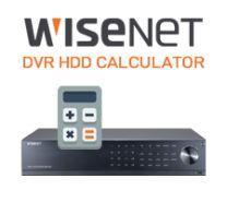 WISENET DVR HDD CALCULATOR