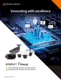 Wisenet7 - 6MP/4K Product Line-up Brochure