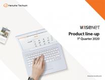 Wisenet Line-up Brochure