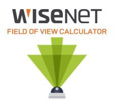 Wisenet Field of View Calculator