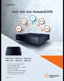 NEW Wisenet 16ch, 8ch, 4ch Penta-brid DVR