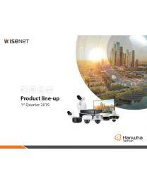 Hanwha Wisenet 2019 1Q Lineup