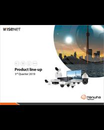 Hanwha Wisenet 2019 3Q Lineup
