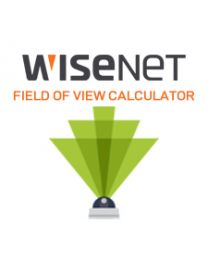 WISENET FIELD OF VIEW CALCULATOR